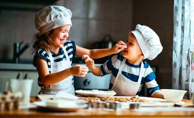 Aprende inglés cocinando recetas fáciles para niños.