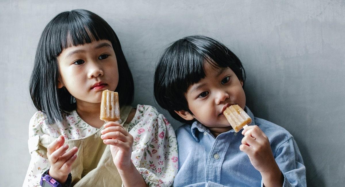 Recetas de helados caseros para hacer con niños y niñas