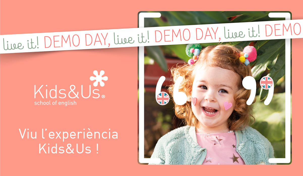 Demo Day: vine a descobrir Kids&Us en una jornada de portes obertes