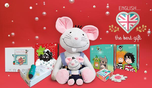 Ideas de regalos de Navidad 2020 para aprender inglés según la edad de tu niño