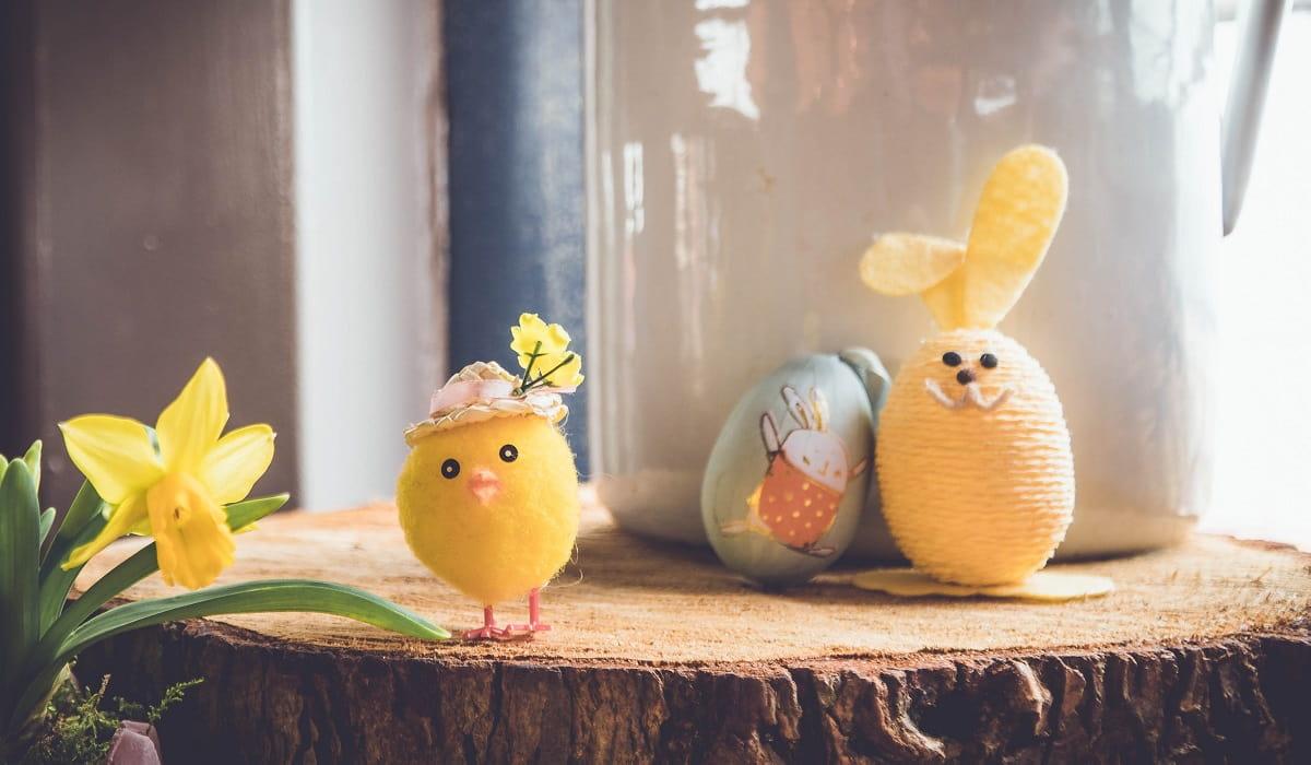 Manualidades con huevos de Pascua para divertirse con los niños